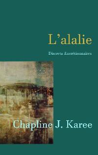 Cover L'alalie