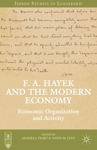 Cover F. A. Hayek and the Modern Economy