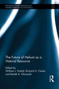 Cover Future of Helium as a Natural Resource