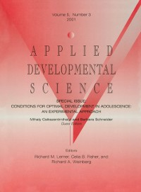 Cover Conditions for Optimal Development in Adolescence