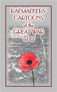 Cover RAEMAEKERS Cartoons of WWI vol 2 - 107 Satrical Cartoons about events during WWI