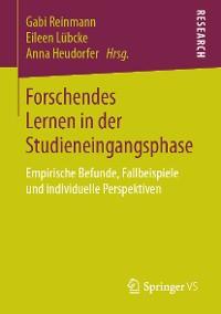 Cover Forschendes Lernen in der Studieneingangsphase