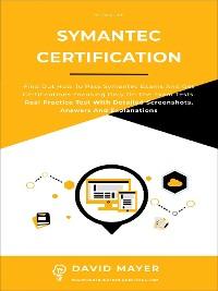 Cover Symantec Certification