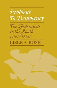 Cover Prologue to Democracy