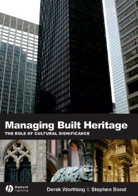 Cover Managing Built Heritage