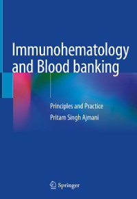 Cover Immunohematology and Blood banking