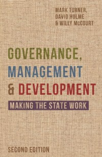 Cover Governance, Management and Development