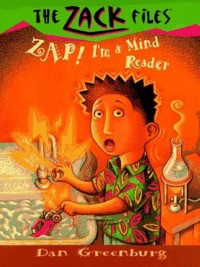 Cover Zack Files 04: Zap! I'm a Mind Reader