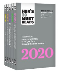 Cover 5 Years of Must Reads from HBR: 2020 Edition (5 Books)