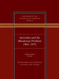 Cover Documents on Australian Foreign Policy
