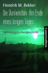 Cover Die Dunkelelbin: Am Ende eines langen Tages