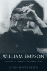 Cover William Empson, Volume II