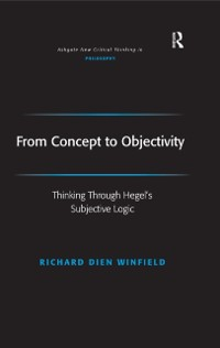 Cover From Concept to Objectivity