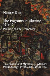 Cover The Pogroms in Ukraine, 1918-19