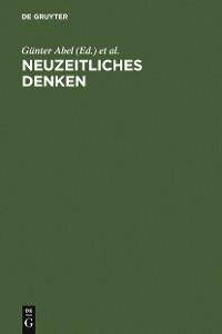 Cover Neuzeitliches Denken