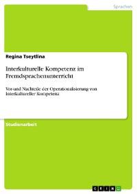 Cover Interkulturelle Kompetenz im Fremdsprachenunterricht
