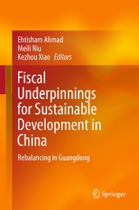 Cover Fiscal Underpinnings for Sustainable Development in China