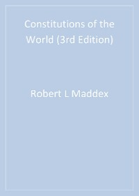 Cover Constitutions of the World