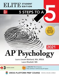 Cover 5 Steps to a 5: AP Psychology 2021 Elite Student Edition