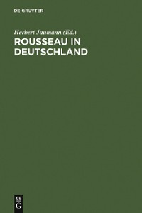 Cover Rousseau in Deutschland