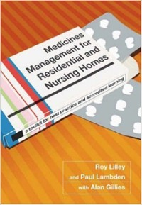 Cover Medicines Management for Residential and Nursing Homes