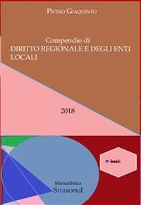 Cover Compendio di DIRITTO REGIONALE e degli ENTI LOCALI