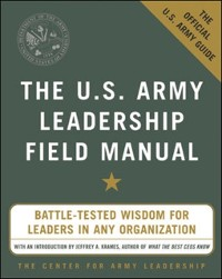 Cover U.S. Army Leadership Field Manual