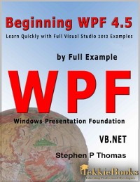 Cover Beginning WPF 4.5 by Full Example VB.Net