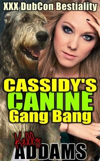 Cover Cassidy's Canine Gang Bang