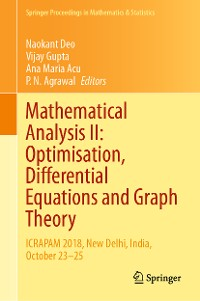 Cover Mathematical Analysis II: Optimisation, Differential Equations and Graph Theory