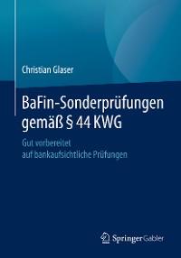 Cover BaFin-Sonderprüfungen gemäß § 44 KWG