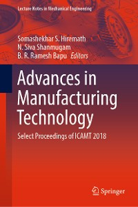 Cover Advances in Manufacturing Technology