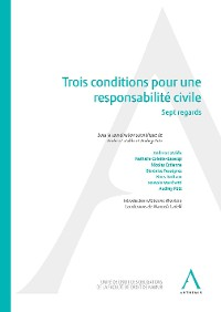Cover Trois conditions pour une responsabilité civile