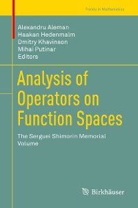 Cover Analysis of Operators on Function Spaces