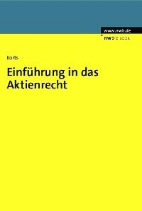 Cover Einführung in das Aktienrecht