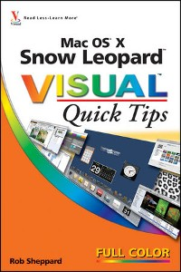 Cover Mac OS X Snow Leopard Visual Quick Tips