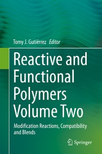 Cover Reactive and Functional Polymers Volume Two
