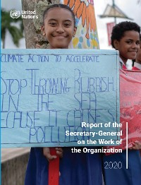 Cover Report of the Secretary-General on the Work of the Organization