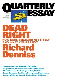 Cover Quarterly Essay 70 Dead Right