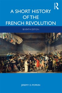 Cover Short History of the French Revolution
