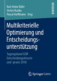 Cover Multikriterielle Optimierung und Entscheidungsunterstützung
