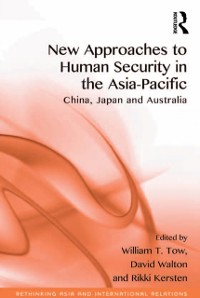 Cover New Approaches to Human Security in the Asia-Pacific