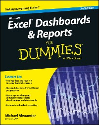 Cover Excel Dashboards and Reports for Dummies