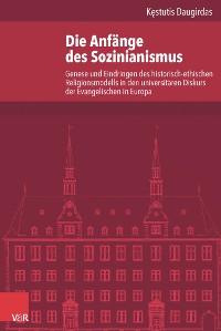 Cover Die Anfänge des Sozinianismus