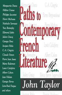 Cover Paths to Contemporary French Literature