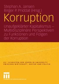 Cover Korruption