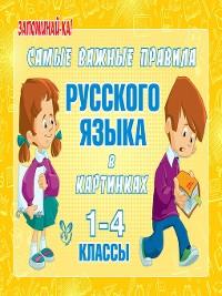 Cover Самые важные правила русского языка в картинках. 1-4 классы
