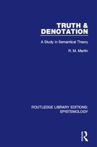 Cover Truth & Denotation