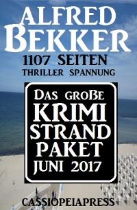 Cover Das große Krimi Strand Paket Juni 2017