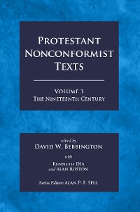 Cover Protestant Nonconformist Texts Volume 3